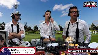 LIVE: Black Caps Vs England 2nd Test Day 5