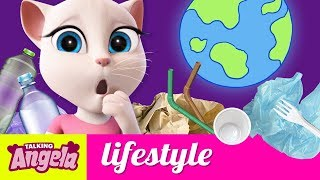 🌎 Save Our Planet - Talking Angela's 5 Sustainable Hacks