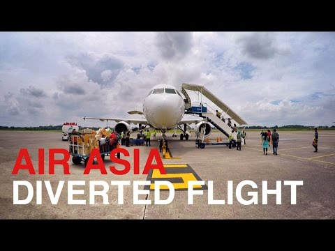 AIRASIA | DIVERTED FLIGHT EXPERIENCE SOLO TO BALI (LOMBOK)