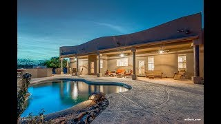 Gorgeous Territorial Style Home with Pool and Mountain Views!!!