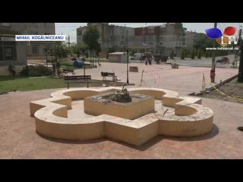 Centrul comunei Mihail Kogălniceanu se modernizează - Litoral TV