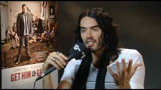 Russell Brand reveals his Noel Gallagher inspiration