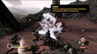 Dragon Age II Xbox 360 gameplay