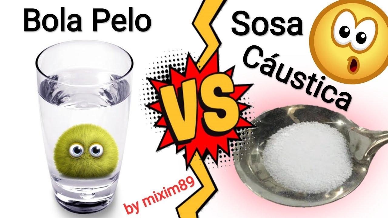 Como actua el desatascador o sosa caustica en el desague - Liquidos para desatascar tuberias ...
