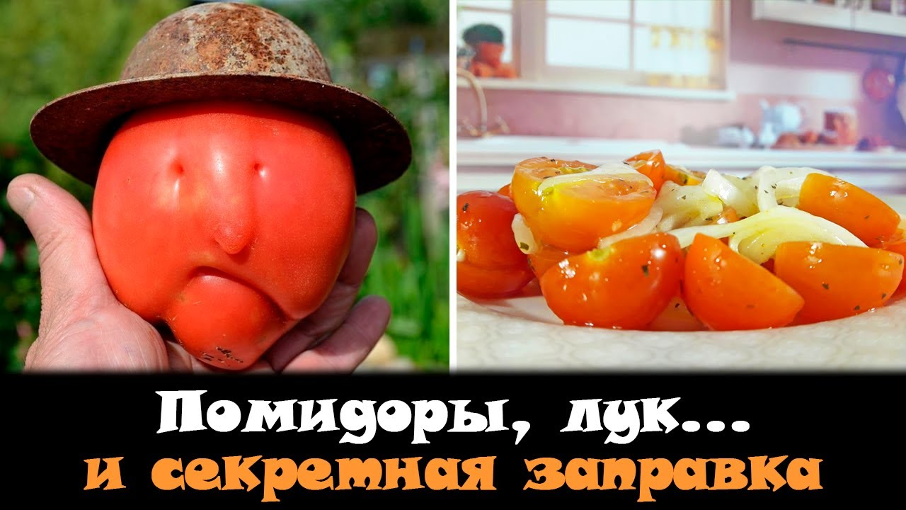 Что приготовить из помидоров? Самая простая закуска из помидоров и лука. Маринад для салата!