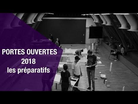 PORTES OUVERTES 2018 - Les préparatifs
