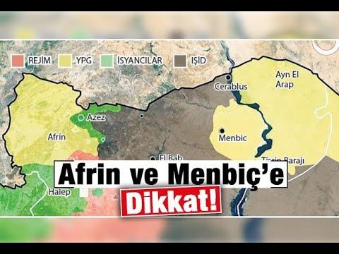 Serpil Çevikcan   Afrin ve Menbiç'e dikkat