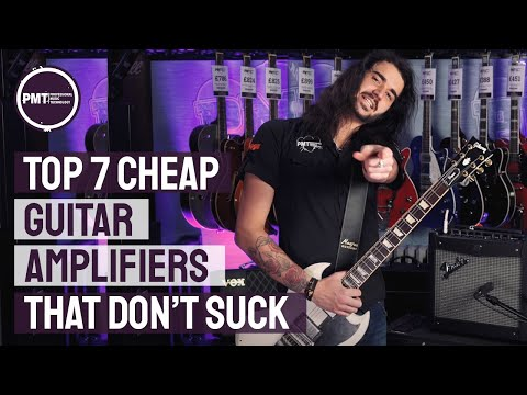 7 Cheap Amplifiers That Don't Suck - Great Tone At Budget Friendly Prices