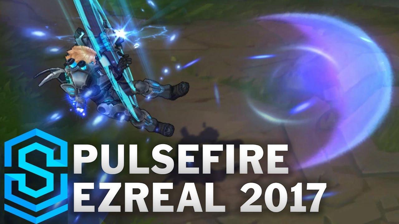 Pulsefire Ezreal 2017 Update Skin Spotlight Pre Release League