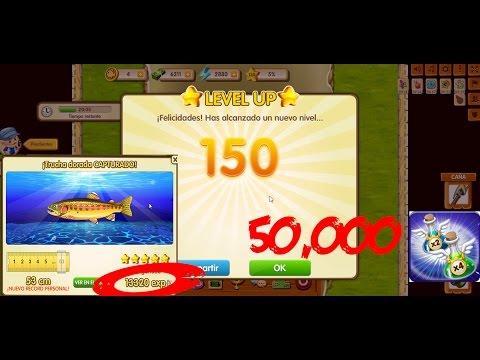 Ganando 50,000 de exp. en 15 mins. y llegando a nivel 150!/FISHAO