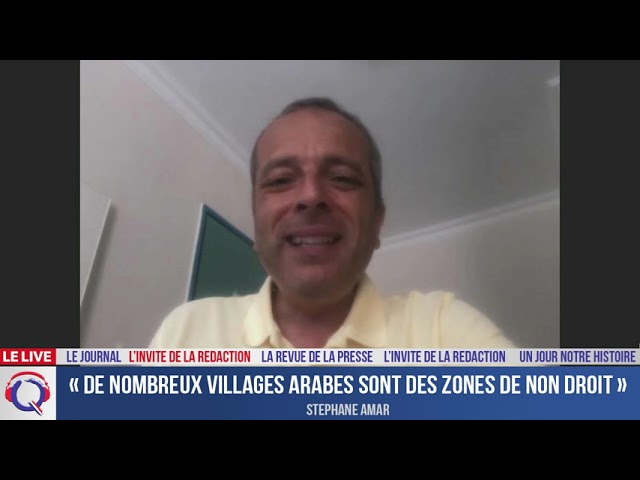 «De nombreux villages arabes sont des zones de non droit» - L'invité du 16 aout 2021