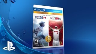 PlayStation Sports Pack Vol 1: MLB 14 The Show and NBA 2K14