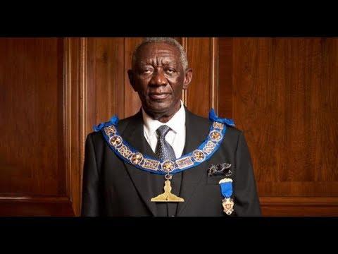 EX PREZ KUFFOUR SENIOR GRAND WARDEN AWARD DISGRACE TO GHANA -ST SARK