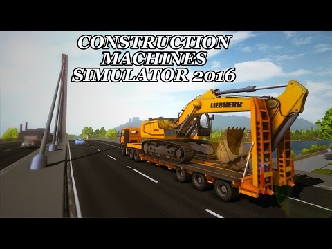 Construction Machines Simulator 2016 Lets Play (Episode 15) - Crushing Cars!  