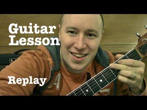 Replay ★ Guitar Lesson ★ Standard Chord Version ★ Zendaya