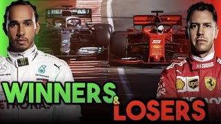 F1 2019 Canada - Winners and losers