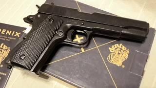 Пистолет Кольт 1911 45 калибра, Colt M1911 Pistol, USA 1911, Denix 1227