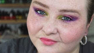 Urban Decay Electric Palette- Bright Tropical Eye Tutorial + Collab Thumbnail
