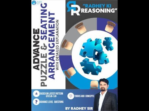 Advance Puzzle + Seating Arrangement With Detailed Explanation (eBook) | Call 9958500766