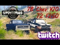 SpinTires: 1978 Chevy K10 & 1972 F250!