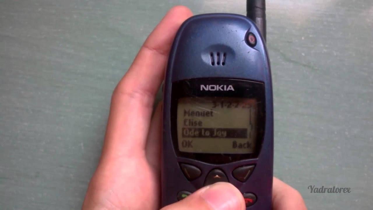 Nokia 6110 Retro review. Old ringtones & snake game