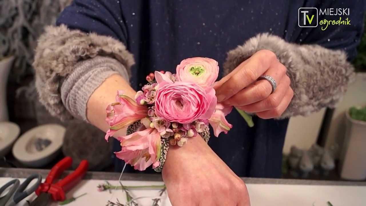 Sekunda Dla Kwiatów Bransoletka Florystyczna S01 E16 Youtube
