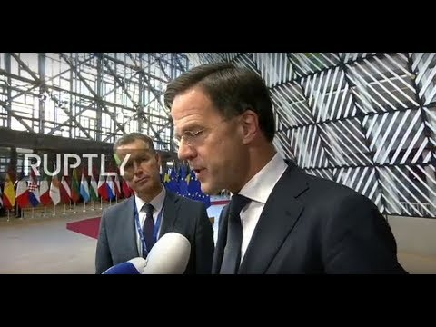 LIVE: Day 1 of European Council summit in Brussels: arrivals and roundtable