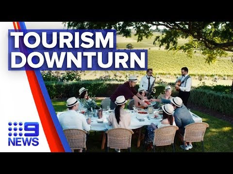 Tourism industry pinched by coronavirus outbreak | Nine News Australia