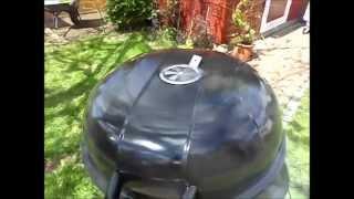 BBQ, Grillen, räuchern mit dem Rauchmax Kaltrauchgenerator im Kugelgrill
