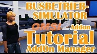 Let´s TUT #02 ➡️️Busbetrieb Simulator AddOn Manager [HD 60]