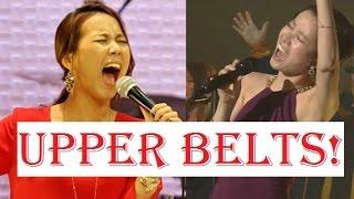 Upper Belts - Korean Female Singers (A5 - C#6)