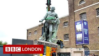 Slave trader statue removed from outside London museum