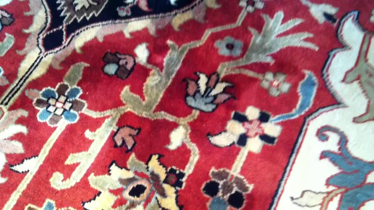 Oxy Dry Wool Area Rug On Wood Floor Completed Kelowna Bc Canada