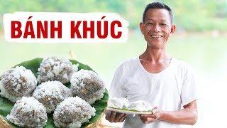 Ông Thọ Làm Bánh Khúc Nóng Hổi, Đậm Đà Hương Vị | Vietnamese Spinach Sticky Rice Balls