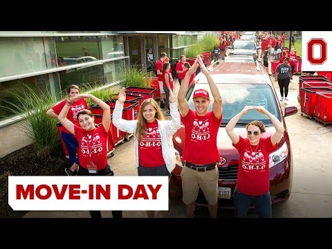 Move-In Day at The Ohio State University