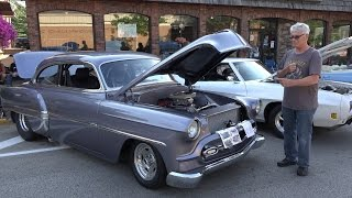 1953 Chevy Belair - MUST WATCH - great modifications and custom work - Westmont Car Show