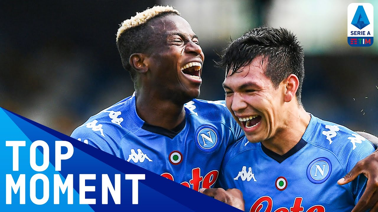 Victor Osimhen Scores First Ever Napoli Goal! | Napoli 4-1 Atalanta | Top Moment | Serie A TIM