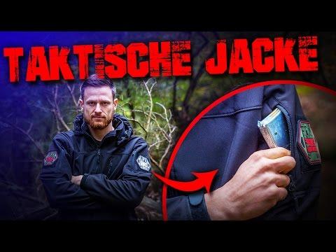 TAKTISCHE JACKE - Softshell Alpha Trekker NcSTAR - Review Test - Outdoor Survival Bushcraft
