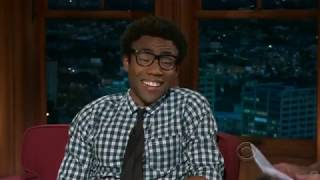 Donald Glover (Childish Gambino) with Craig Ferguson