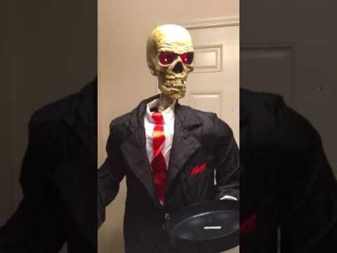 Halloween Butler Prop