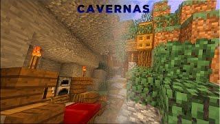 Minecraft: Dicas de Construção - 8: DECORAÇÃO DE CAVERNAS
