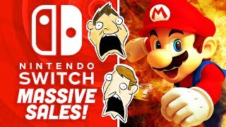 Nintendo Switch's MASSIVE Sales Numbers! - Rerez Hot Take