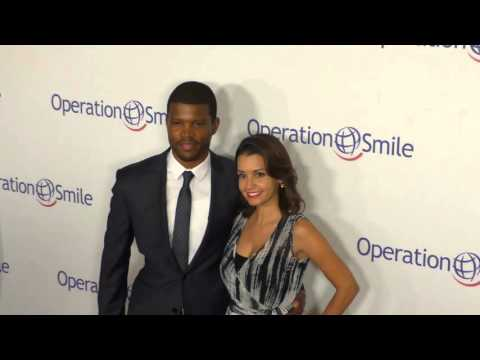 Sharif Atkins and Bethany Atkins at the Operation Smile's 2015 Smile Gala at The Beverly Wilshire Fo