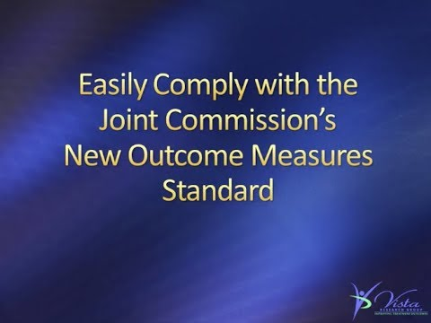 Complying with the New Joint Commission Outcome Measures Requirement | Webinar