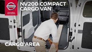 Nissan NV200 Van - Cargo Space Configurations