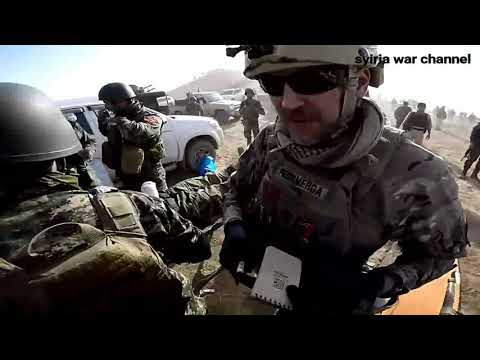 Iraq War GoPro#Volunteer Combat Medics Provide Medical Treatment For Tank Crew After Hit By IS RPG