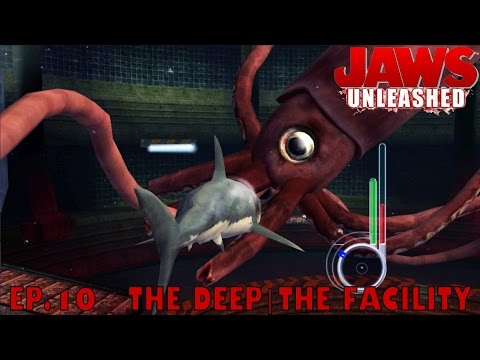 Let's Play Jaws Unleashed Ep.10 THE DEEP|THE FACILITY