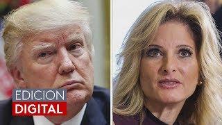 Una mujer demanda a Trump por presunta difamación luego de haberlo señalado de acoso sexual