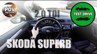 2017 Skoda Superb 2.0 TDI DSG POV test drive and review