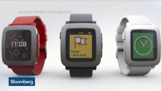 Pebble's Time Is Now: Watch Shatters Kickstarter Records
